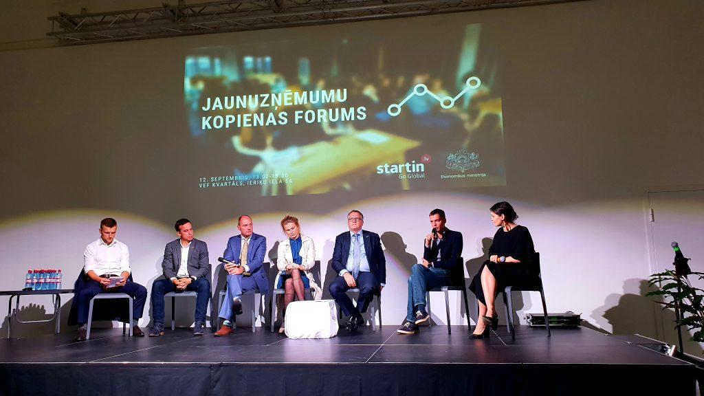 RB Rail at the Latvian Start-up Forum   Rail Baltica