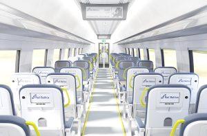 Rail Baltica concept train standard class