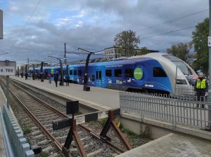 Connecting Europe Express in Tallin